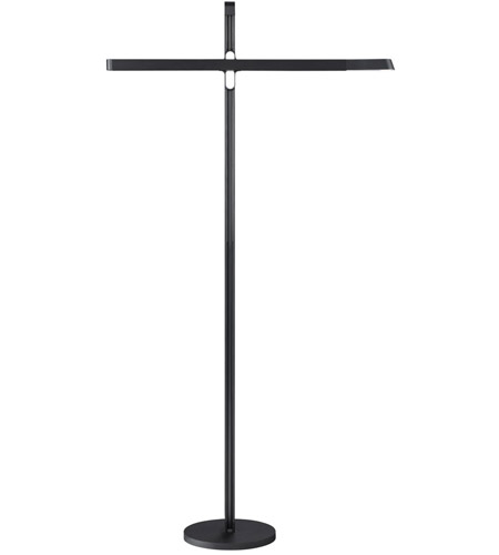 Modern Forms FL-1950-BK Hangman 55 inch 6 watt Black Floor Lamp Portable Light photo