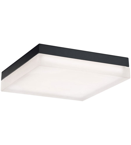 Modern Forms Fm 2017 30 Bk Matrix Led 12 Inch Black Flush Mount