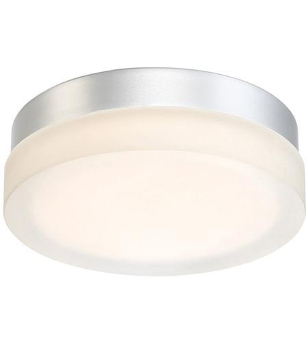 Circa Led 9 Inch Anium Flush Mount Ceiling Light In 9in