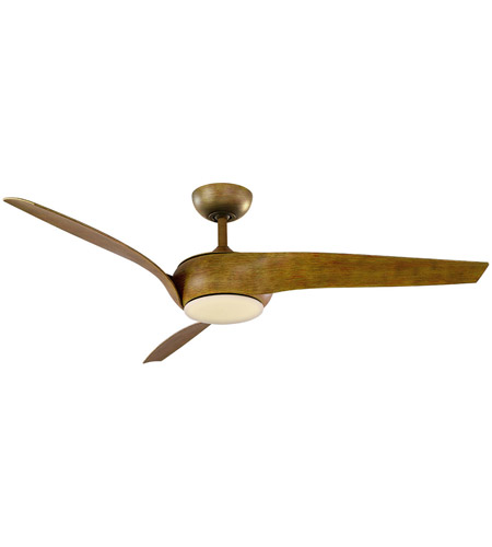 Modern Forms FR-W1916-56L-27-KO Nirvana 56 inch Koa Indoor Outdoor Smart Ceiling Fan photo