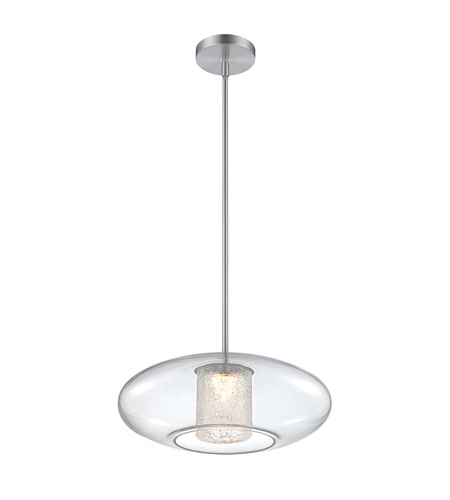 Modern Forms PD-51218-AL Ethereal LED 18 inch Brushed Aluminum Pendant Ceiling Light photo