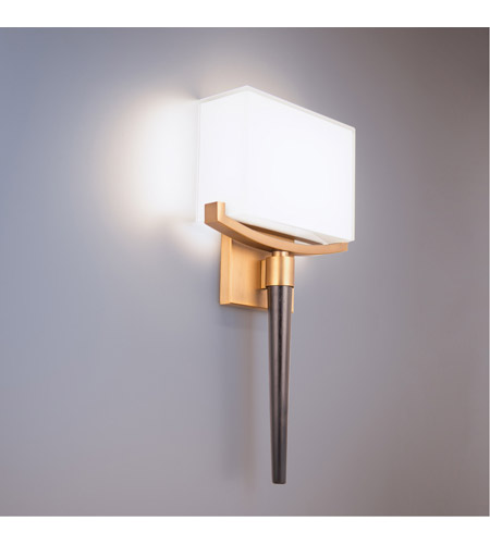 Modern Forms WS-12118-AB Muse LED 4 inch Aged Brass ADA Wall Sconce Wall Light alternative photo thumbnail