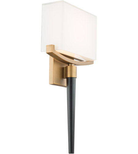 Modern Forms WS-12118-AB Muse LED 4 inch Aged Brass ADA Wall Sconce Wall Light photo thumbnail