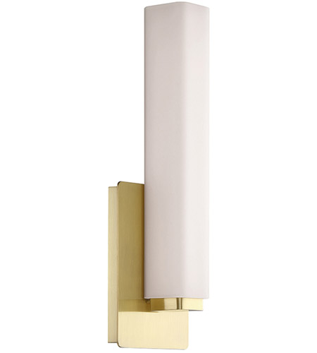 Vogue Led 5 Inch Brushed Br Ada Wall Sconce Light In 15in