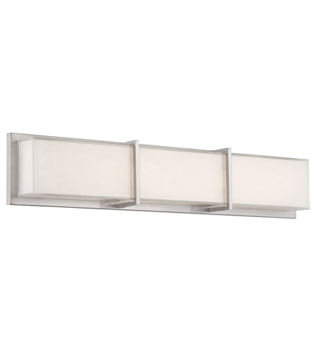 Modern Forms WS-6826-BN Bahn LED 26 inch Brushed Nickel Bath Light Wall Light photo