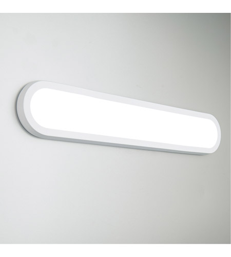 Modern Forms WS-93027-WT Argo LED 27 inch White Vanity Light Wall Light alternative photo thumbnail