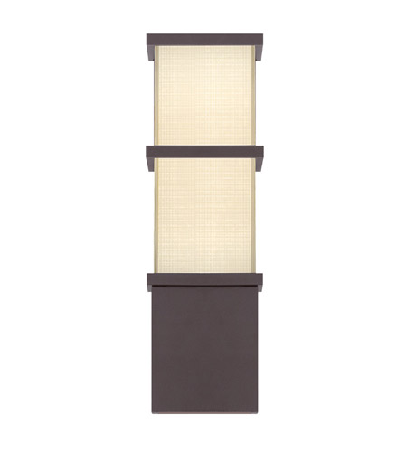 Modern Forms WS-W5216-BZ Elevation LED 16 inch Bronze Outdoor Wall Light in 16in. photo
