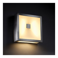 Modern Forms Vue 3 Light LED Outdoor Wall Mount in Brushed Aluminum WS-W1308-AL