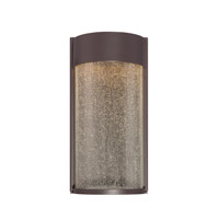Modern Forms Rain 2 Light LED Outdoor Wall Mount in Bronze WS-W2412-BZ