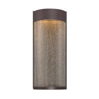 Modern Forms Rain 2 Light LED Outdoor Wall Mount in Bronze WS-W2416-BZ