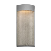 Modern Forms Rain LED Outdoor Wall Light in Graphite WS-W2416-GH