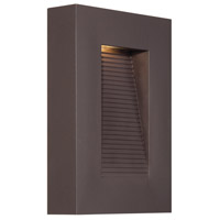 Modern Forms WS-W1110-BZ Urban LED 10 inch Bronze Outdoor Wall Light in 10in.