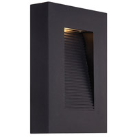 Modern Forms WS-W1110-BK Urban LED 10 inch Black Outdoor Wall Light