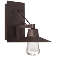 Modern Forms Suspense LED Outdoor Wall Light in Bronze WS-W1911-BZ