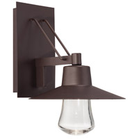 Modern Forms WS-W1915-BZ Suspense LED 15 inch Bronze Outdoor Wall Light in 15in.