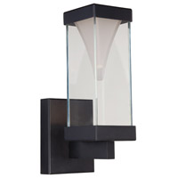 Modern Forms Vortex LED Outdoor Wall Light in Black WS-W2112-BK