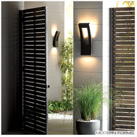 Modern Forms WS-W2216-GH Dawn LED 16 inch Graphite Outdoor Wall Light alternative photo thumbnail