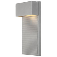 Hiline LED 12 inch Graphite Outdoor Wall Light