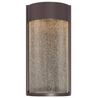 Modern Forms WS-W2412-BZ Rain LED 12 inch Bronze Outdoor Wall Light