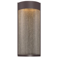 Modern Forms Rain LED Outdoor Wall Light in Bronze WS-W2416-BZ