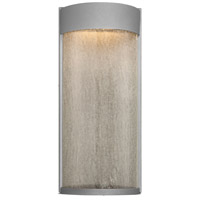 Modern Forms WS-W2416-GH Rain LED 16 inch Graphite Outdoor Wall Light