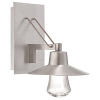 Modern Forms WS-W1911-AL Suspense LED 11 inch Brushed Aluminum Outdoor Wall Light in 11in.