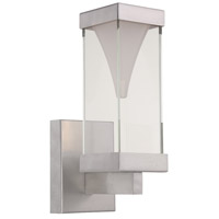 Modern Forms Vortex LED Outdoor Wall Light in Brushed Aluminum WS-W2112-AL photo thumbnail