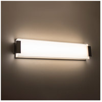 Modern Forms WS-3226-BN Polar LED 26 inch Brushed Nickel Bath Light Wall Light alternative photo thumbnail