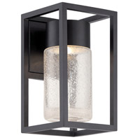 Modern Forms WS-W5411-BK Structure LED 11 inch Black Outdoor Wall Light