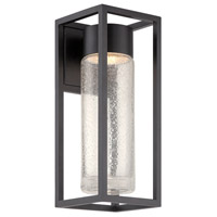 Structure LED 16 inch Black Outdoor Wall Light