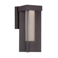 Modern Forms Castleton LED Outdoor Wall Light in Bronze WS-W5014-BZ