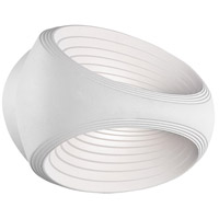 Rhythm LED 9 inch White ADA Wall Sconce Wall Light
