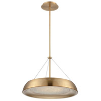 Soleil LED 18 inch Light Bronze Chandelier Ceiling Light