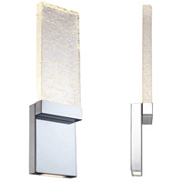 Modern Forms WS-12721-CH Glacier LED 6 inch Chrome ADA Wall Sconce Wall Light