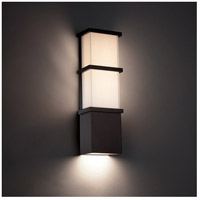 Modern Forms WS-W5216-BZ Elevation LED 16 inch Bronze Outdoor Wall Light in 16in. alternative photo thumbnail