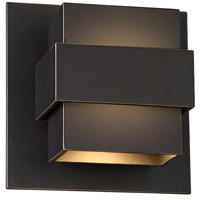 Modern Forms WS-W30507-ORB Pandora LED 7 inch Oil Rubbed Bronze Outdoor Wall Light