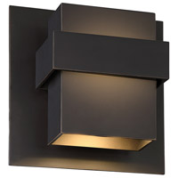 Modern Forms WS-W30509-ORB Pandora LED 9 inch Oil Rubbed Bronze Outdoor Wall Light