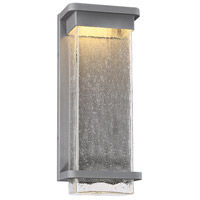 Modern Forms WS-W32516-GH Vitrine LED 16 inch Graphite Outdoor Wall Light