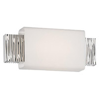 Aegean LED 12 inch Polished Nickel ADA Wall Sconce Wall Light