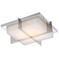 Razor LED 12 inch Stainless Steel Flush Mount Ceiling Light