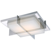 Modern Forms Razor LED Indoor Flush Mount in Stainless Steel FM-4716-SS