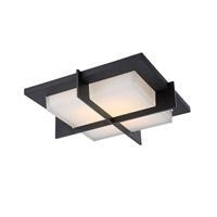 Razor LED 16 inch Bronze Flush Mount Ceiling Light