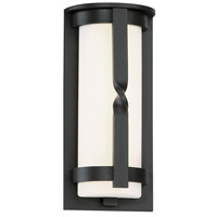 Modern Forms WS-W21511-BZ Berkley LED 11 inch Bronze Outdoor Wall Light in 11in., Opal Mouth Blown Glass 8