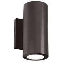 Modern Forms WS-W9102-40-BZ Vessel LED 8 inch Bronze Outdoor Wall Light in 2, 4000K