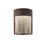 Modern Forms Rain LED Outdoor Wall Light in Bronze WS-W2408-BZ
