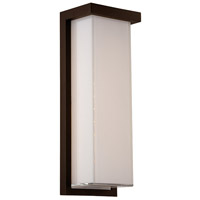 Modern Forms WS-W1414-27-BZ Ledge 1 Light 14 inch Bronze Outdoor Wall Light