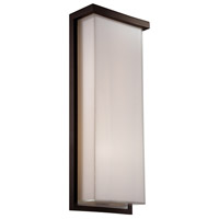 Modern Forms WS-W1420-BZ Ledge LED 20 inch Bronze Outdoor Wall Light