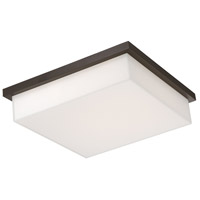 Ledge LED 14 inch Bronze Outdoor Flush Mount