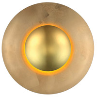 Blaze LED 18 inch Gold Leaf ADA Wall Sconce Wall Light in 18in.