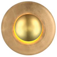 Blaze LED 24 inch Gold Leaf Wall Sconce Wall Light in 24in.